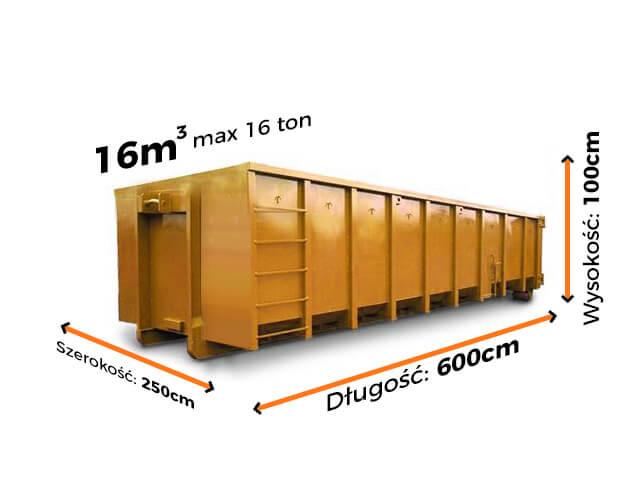 Kontener 16m3