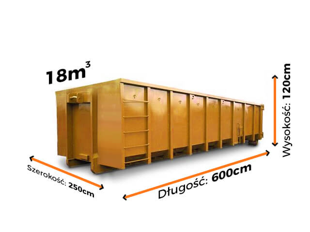 Kontener 18m3